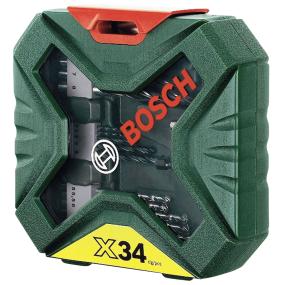 Zestaw akcesoriów BOSCH X-line 34 części