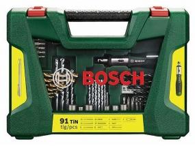 Zestaw akcesoriów BOSCH V-LINE 91 części
