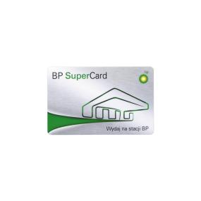 Karta paliwowa BP SuperCard o wartości 150 zł