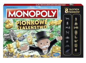 Gra Hasbro Monopoly Pionkowe szaleństwo C0087