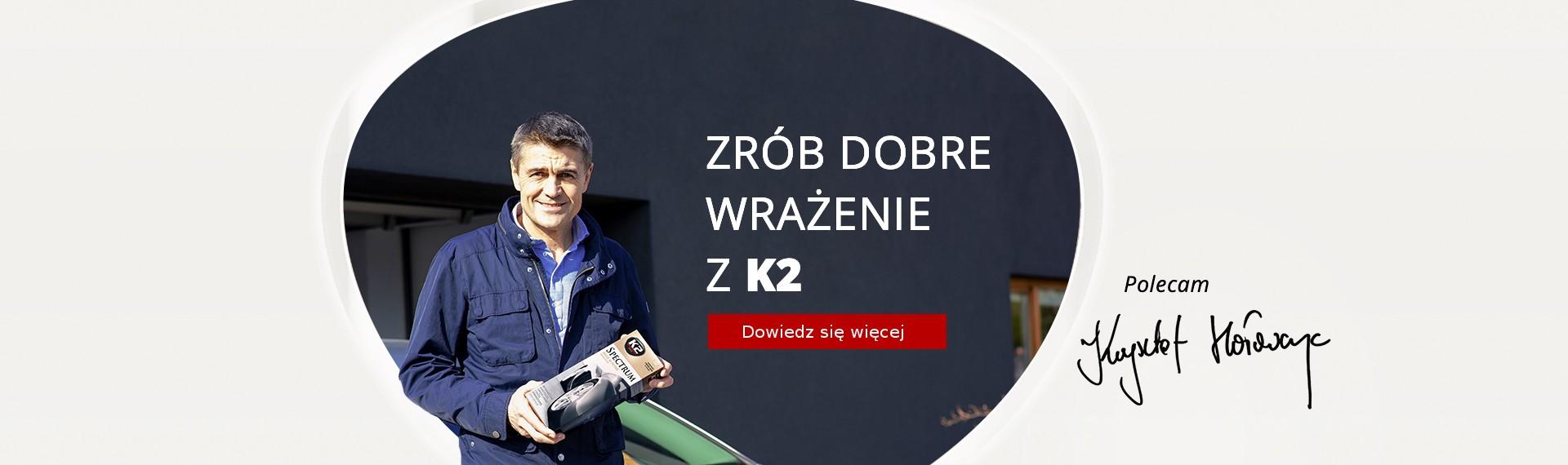 Wiosenna kampania reklamowa K2 ruszyła!