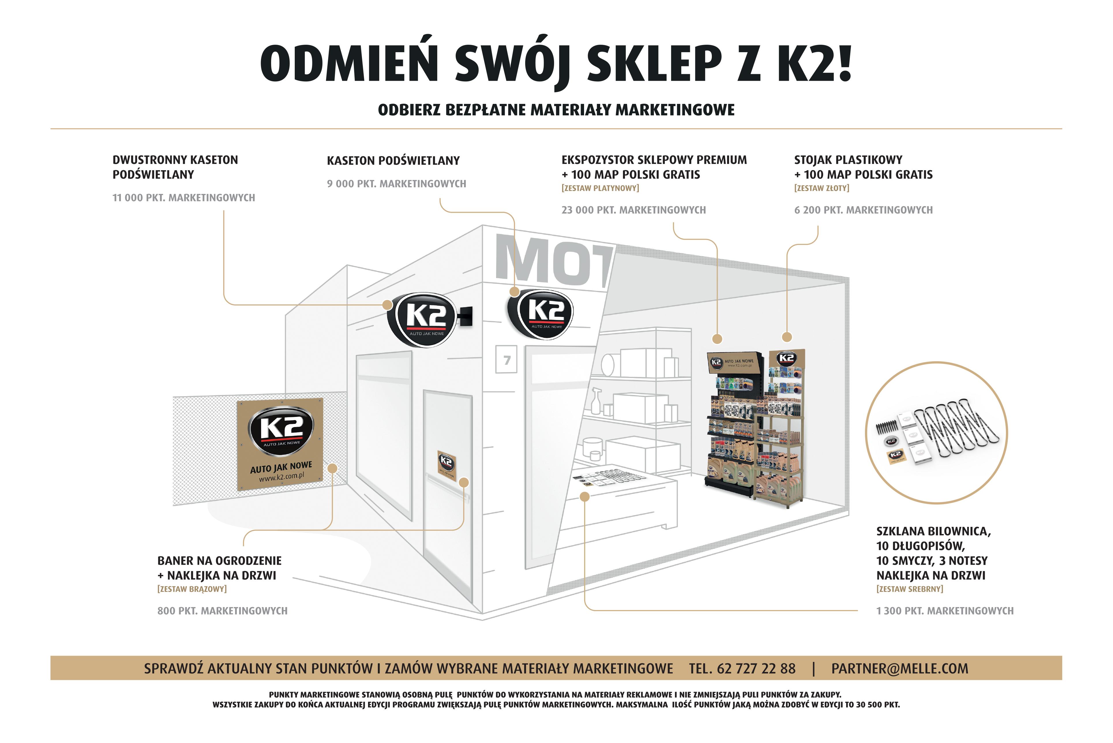 Materiały reklamowe K2 – wsparcie Twojego biznesu!