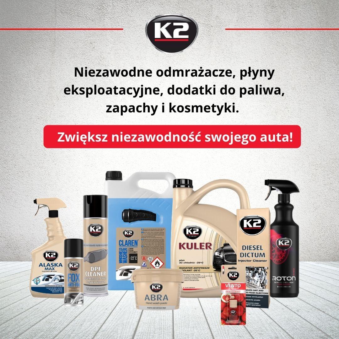 Reklama internetowa K2 na Facebooku o zasięgu ~25 tys. osób
